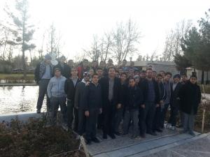آرامگاه فردوسی -دانش آموزان دبیرستان نصر